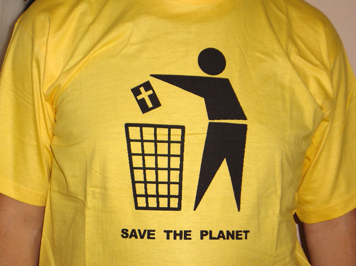 T-SHIRT / SAVE THE PLANET